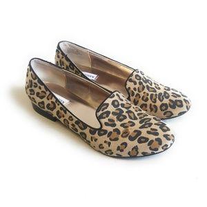 "STEVE MADDEN ""Clasic"" Leopard Print Flats Shoes 9"